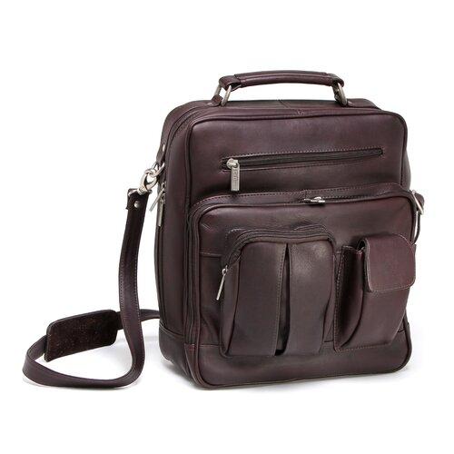 Le Donne Leather I-Pad/Tablet Organizer Satchel Bag
