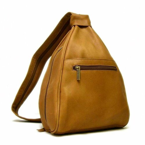 Le Donne Leather Leather Women's Sling Backpack