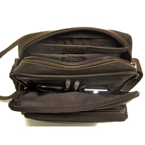 Le Donne Leather Distressed Leather iPad /E-Reader Shoulder Bag