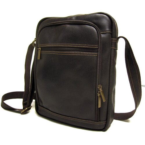 Distressed Leather iPad/E-Reader Shoulder Bag
