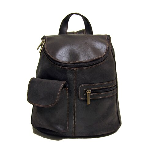 Distressed Leather Women's Backpack