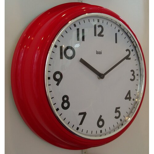 "Bai Design 9.8"" School Wall Clock"