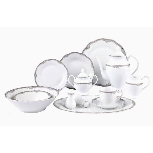 Casa Lorren Elizabeth 57 Piece Dinnerware Set