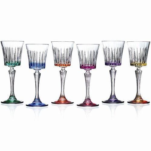 Timeless Color White Wine Glass (Set of 6)