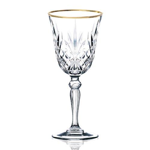 Lorren Home Trends Siena White Wine Glass