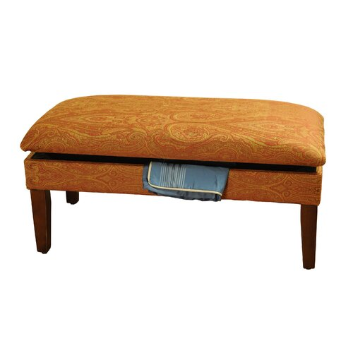 homepop upholstered storage bedroom bench ii reviews