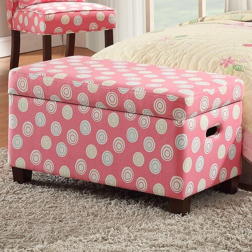 Wildon Home Upholstered Storage Bedroom Bench: HomePop Deluxe Upholstered Storage Bedroom Bench & Reviews