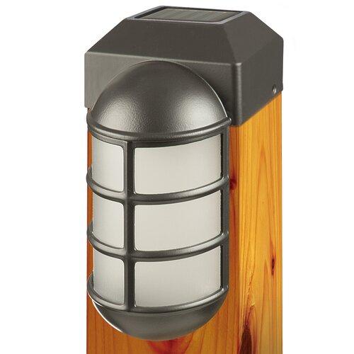 terratec post caps mcfarland cascade bug zapper and solar post light