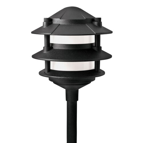 Standard voltage wired 120v landscape lighting wayfair for 120v landscape lighting
