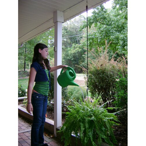 Riverstone Industries Plant Caddie Pulley System for Plants and Bird Feeders (Pack of 3)
