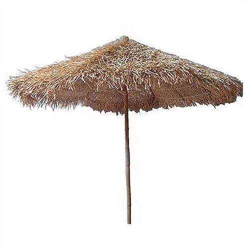 Bamboo54 5' Thatched Bamboo Market Umbrella