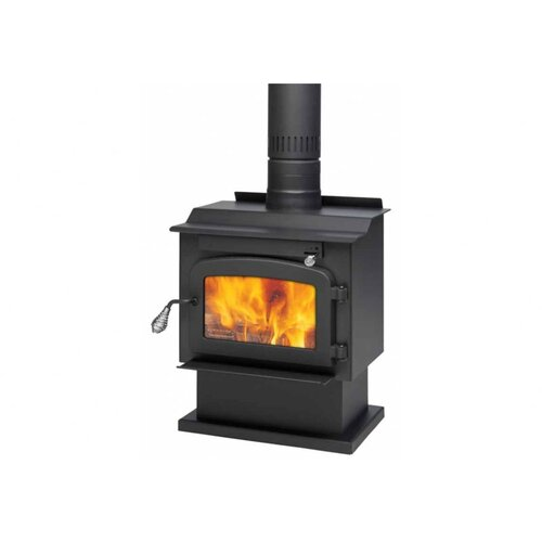 Pyropak 1,000 Square Foot Wood Stove on Pedestal