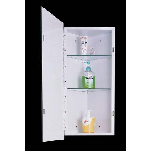 Medicine cabinets wayfair for Bathroom medicine cabinets 14 x 18