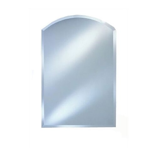 Radiance Arch Top Frameless Wall Mirror