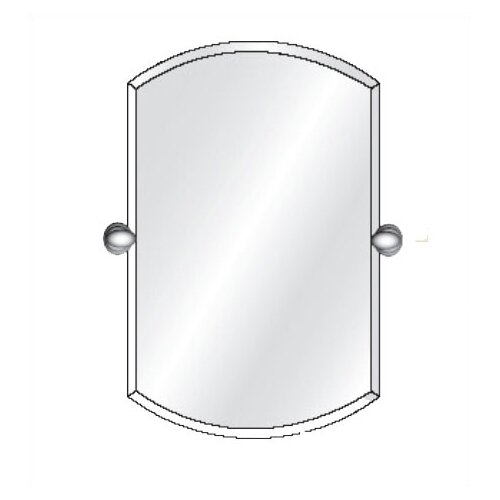 Radiance Tilt Double Arch Frameless Wall Mirror