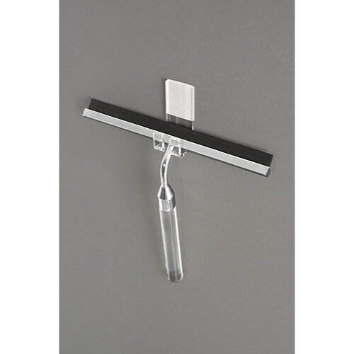 Toscanaluce by Nameeks Glue-On Glass Squeegee Hook