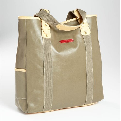 Clava Leather Carina Vertical Tote Bag