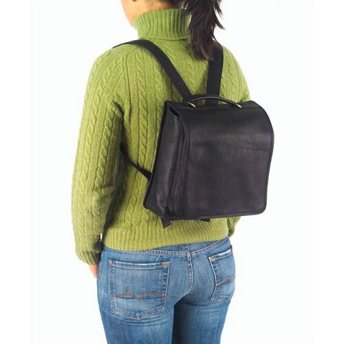 Clava Leather Vachetta Hip To Be Square Backpack