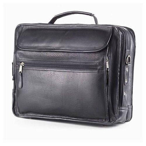 Clava Leather Vachetta Extra Large Leather Laptop Briefcase