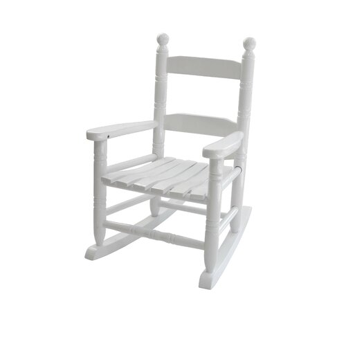 Knollwood Children's Rocking Chair in White