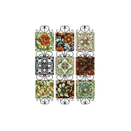 UMA Enterprises Toscana Assorted Plates Wall Décor