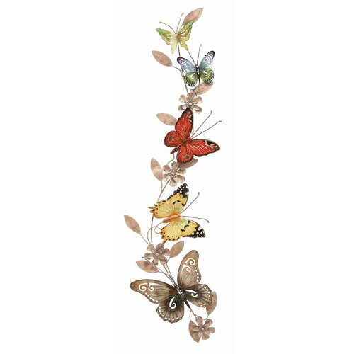UMA Enterprises Metro Butterfly Wall Décor