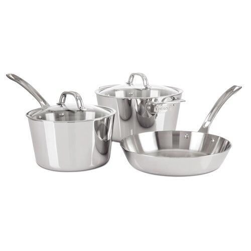 Contemporary 5-Piece Starter Cookware Set