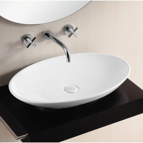 Caracalla Ceramica II Vessel Bathroom Sink