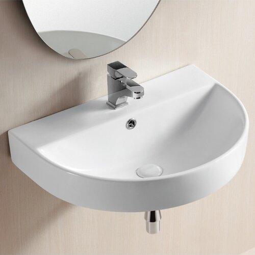 Ceramica II Wall Mounted Bathroom Sink