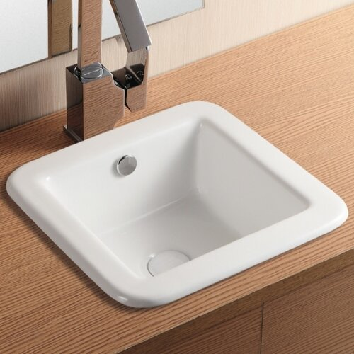 Ceramica II Sink for The Bathroom or Powder Room