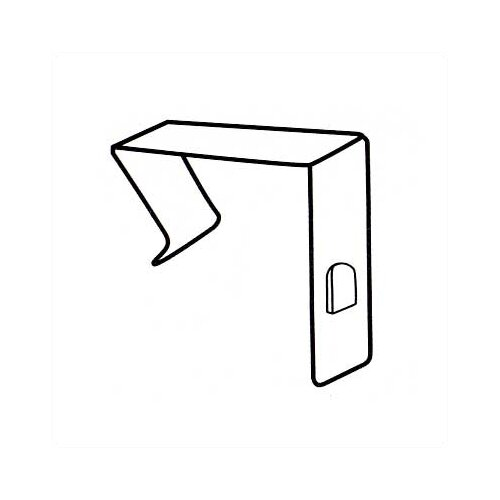 Claridge Products No. 80 Partition Clips