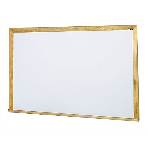 Claridge Products Special Low Gloss Deluxe 4' x 4' Whiteboard