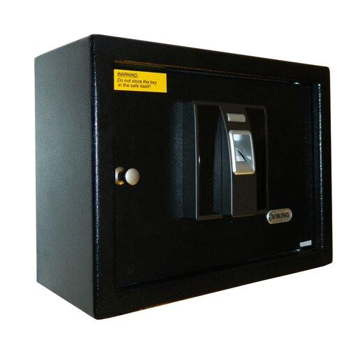 Viking Security Biometric Key Lock Wall Safe