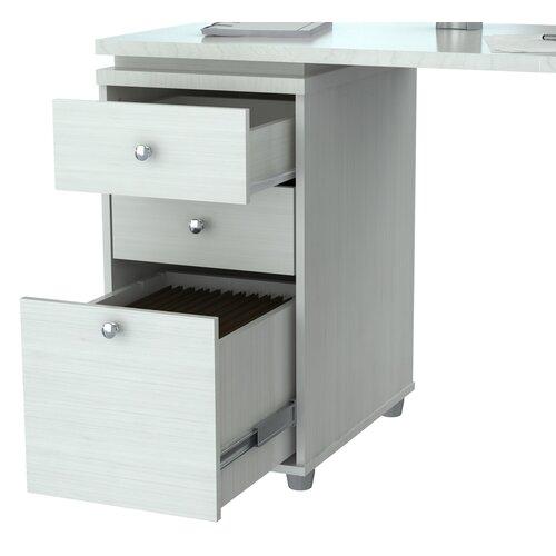 Shaped Computer Work Station Desk | Wayfair