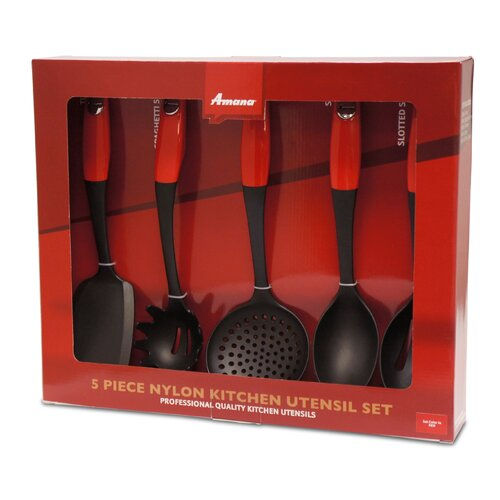 Amana 5 Piece Kitchen Utensil Set