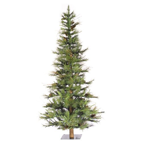 7 Foot Slim Pre Lit Christmas Trees