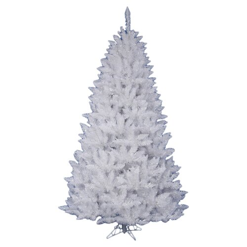 Vickerman Co. Crystal White Spruce 5.5' Artificial Christmas Tree with Stand