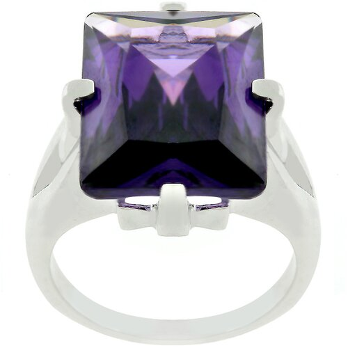 Kate Bissett Huge Cubic Zirconia Contemporary Ring