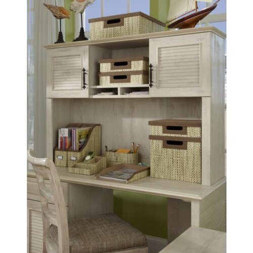 "kathy ireland Office by Bush Volcano Dusk  35.82"" H x  51.02"" W  Desk Hutch"