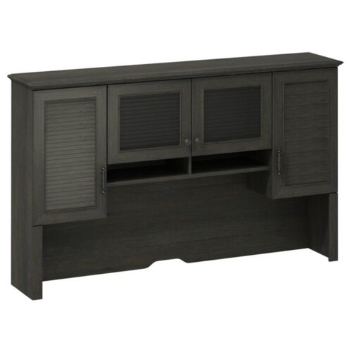 "kathy ireland Office by Bush Volcano Dusk 41.33' H x 67.75"" W Desk Hutch"