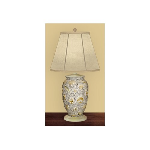 JB Hirsch Home Decor Shells Ashore Table Lamp