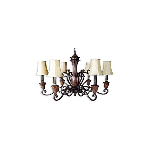 JB Hirsch Home Decor Regency 6 Light Chandelier
