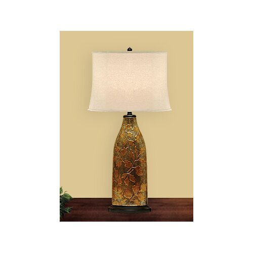JB Hirsch Home Decor Exotic Leaf Table Lamp