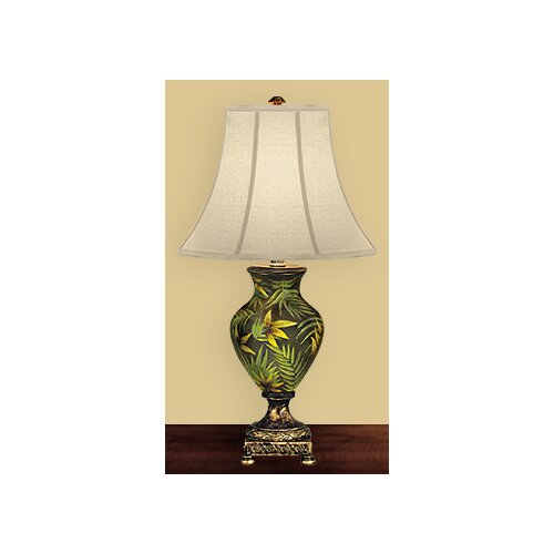 Style Craft Palm Tree 26 Quot H Table Lamp With Bell Shade