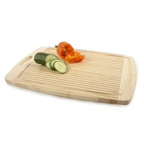 Core Bamboo Tulip X-Large Cutting Board in Two Tone