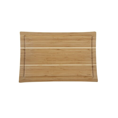 Core Bamboo Daffodil Large Cutting Board in Two Tone