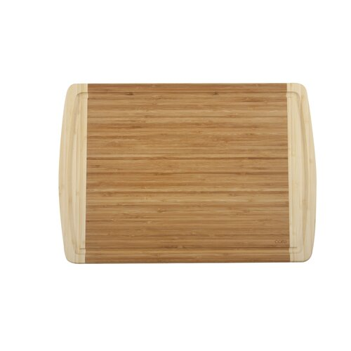 Core Bamboo Peony Extra Large Cutting Board in Two Tone