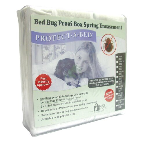 Protect a bed buglock bed bug proof mattress encasement for Bed bug mattress and box spring cover sets