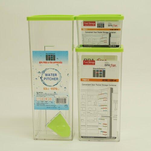 StackSmart 7-Piece Rectangular Set with Sealed Lid