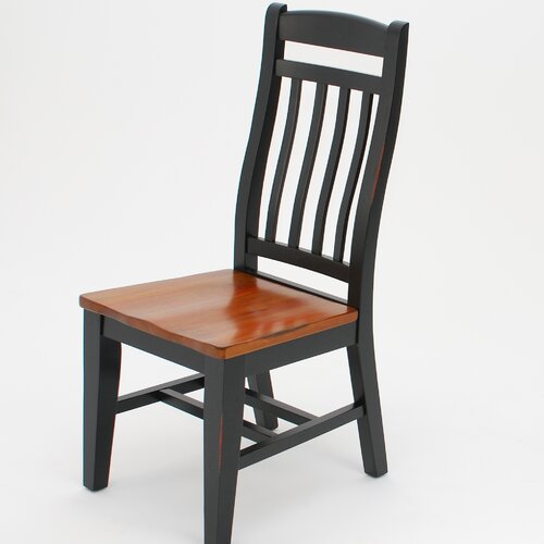 GS Furniture Riverside Slat Back Side Chair